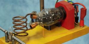 Radiação de uma antena tipo dipolo